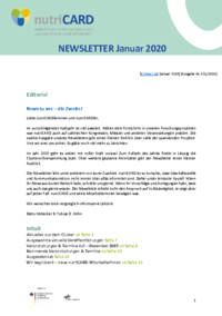 2. nutriCARD-Newsletter Ausgabe 01/2020